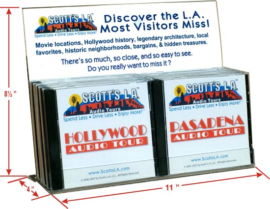 10 CD Stand for Retail Locations