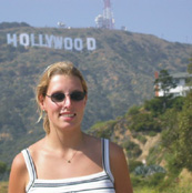 Great Hollywood Sign Photo with Denise who drove up for a great shot